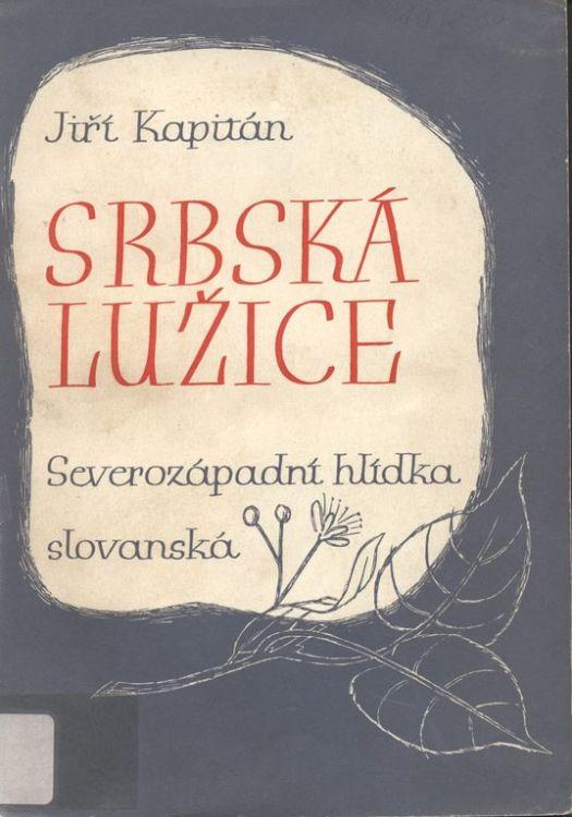 Abbildung eine Monografie von Jiří Kapitán