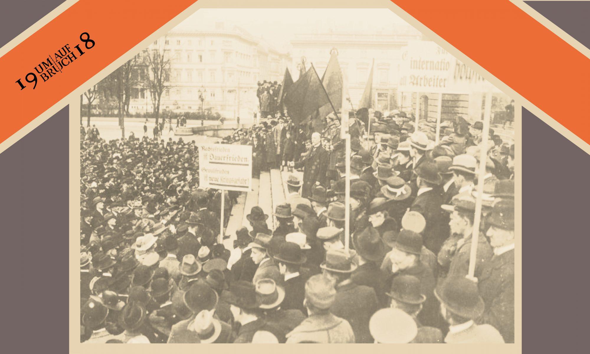 1918  - CHIFFRE FÜR UMBRUCH UND AUFBRUCH